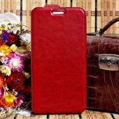 Чехол-блокнот Experts Slim Flip Case LS для Explay Fresh, красный - фото