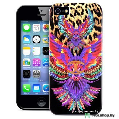 "Чехол для iPhone 6/ 6s накладка Just Cavalli для iPhone 6/ 6s "" WINGS"""