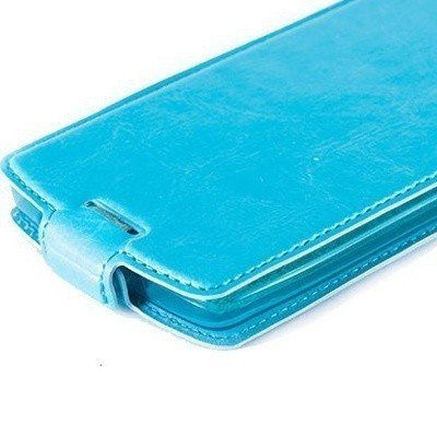Чехол для Lenovo A2010 блокнот Experts Slim Flip Case, голубой