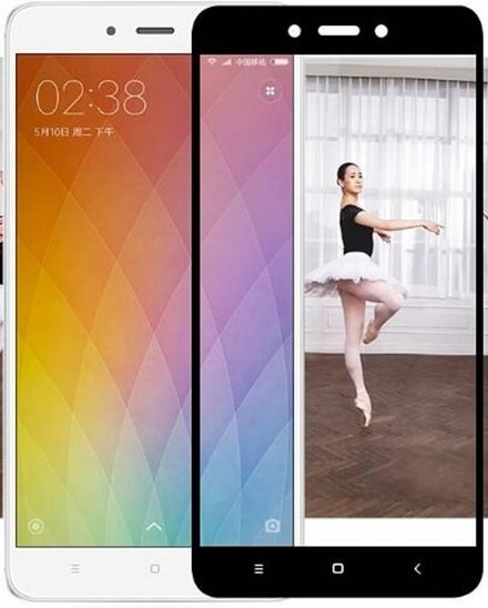 Защитное стекло - для Xiaomi Redmi Note 4X Full Screen (Black) - фото