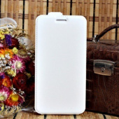 Чехол для Huawei Ascend Y300 (U8833) блокнот Experts Slim Flip Case, белый - фото