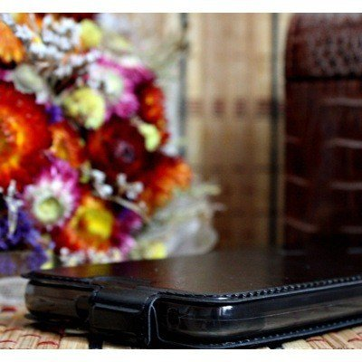 Чехол для Huawei Ascend Y6 блокнот Experts Slim Flip Case LS, черный - фото3